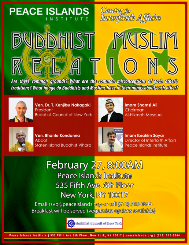 Buddhist Muslim Relations