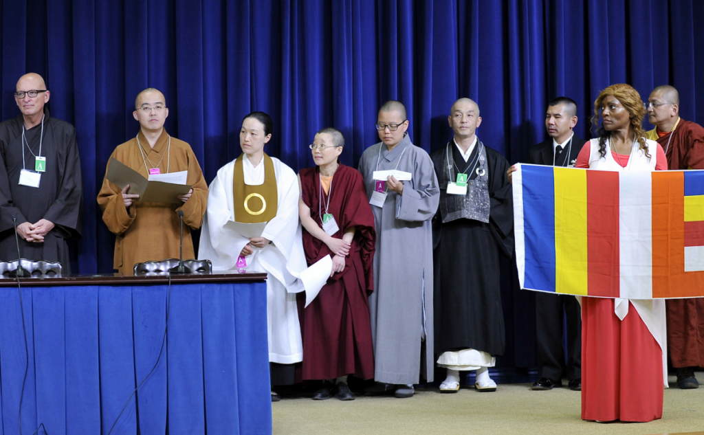 Buddhists at the White House